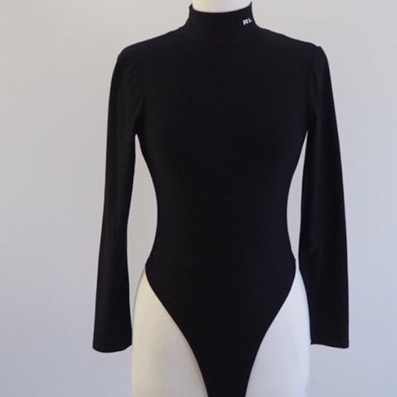 80s Vintage Ralph Lauren Bodysuit, Designer Vinta… - image 2