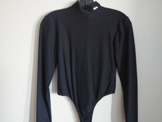 80s Vintage Ralph Lauren Bodysuit, Designer Vinta… - image 4