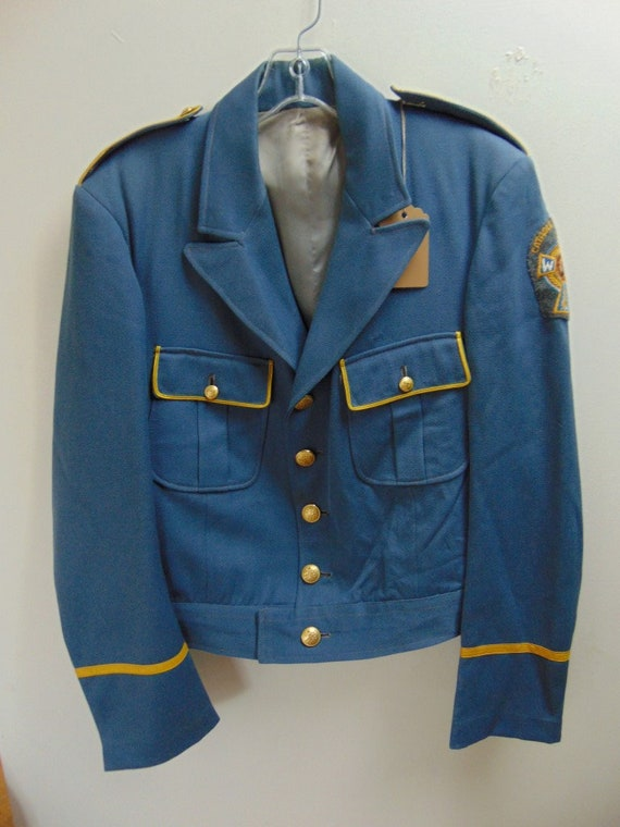 cM40 1940-50's Christian War Veterans Wool Gabardi