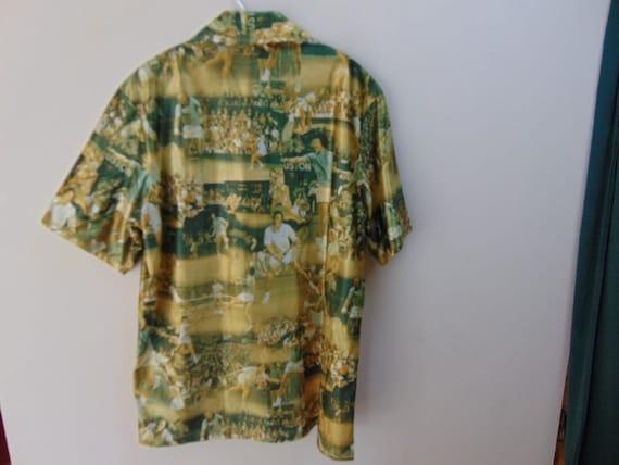 1970's Tennis Stars photo photo Stars  Chest size 46  inches vintage shirt 838cfa