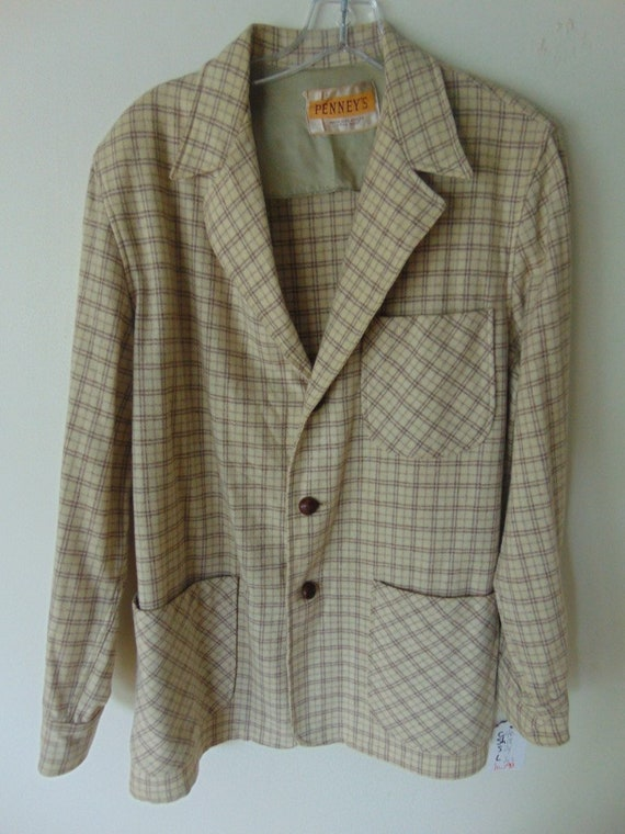 lsw99 1950's Pennys Cream Very Cool Wool Vintage s