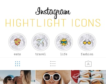 Crumbled Paper Instagram Highlight Icon Set