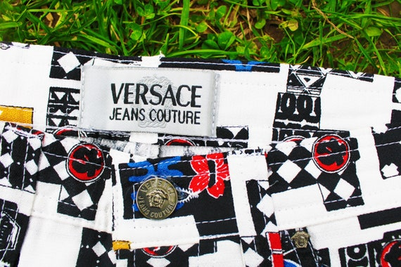 Gianni Versace Jeans Couture Rare 1990 90s Vintag… - image 8
