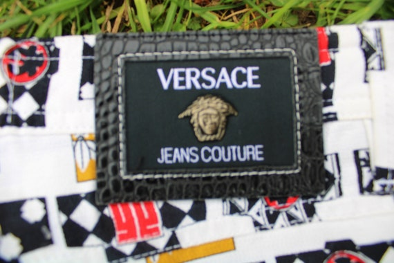 Gianni Versace Jeans Couture Rare 1990 90s Vintag… - image 9