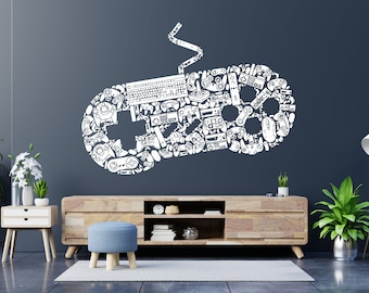 Wall Vinyl Decals Home Decor Sticker 3d Custom Game Studio Play Room Removable