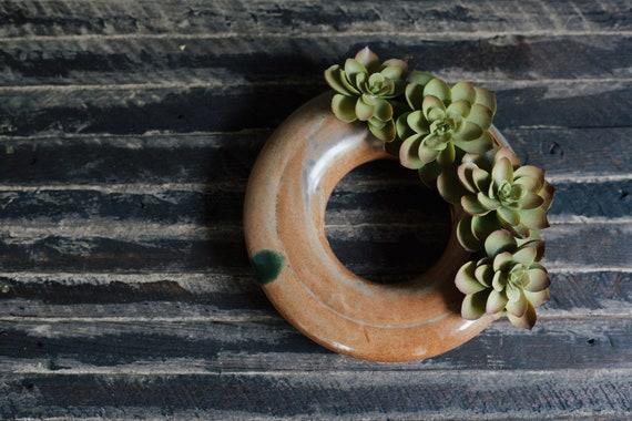 Jeanne Beury 2000 succulent vase