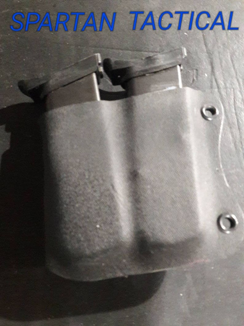 Hi=Point 9mm/380 double magazine holster Custom Kydex Holster 12 colors to  choose from