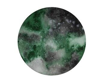 Watercolors Moon, boho decor, watercolor Moon, abstract moon, moon decor
