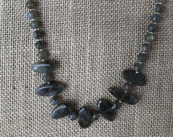 Quartz Opal-like necklace