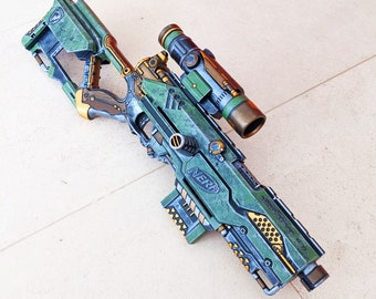 Painted Nerf Halo Longstrike from PDK Films #3