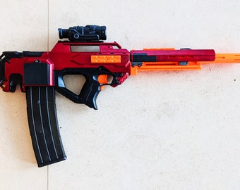 HIGHLY Modified Nerf Rayven from PDK Films #12