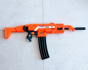 MODIFIED Full Auto Nerf AK47 Stryfe from PDK Films #26