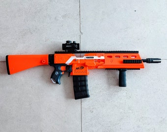 MODIFIED Full Auto Nerf G36 Stryfe from PDK Films #24