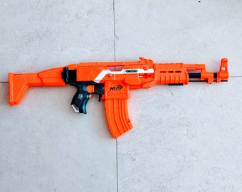 MODIFIED Full Auto Nerf AK47 Stryfe from PDK Films #27