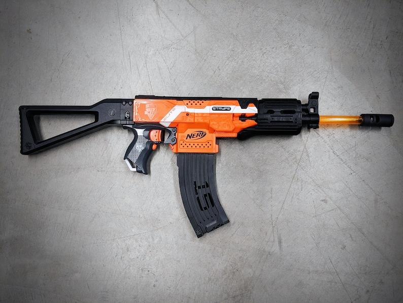 how to make a ak 47 nerf gun