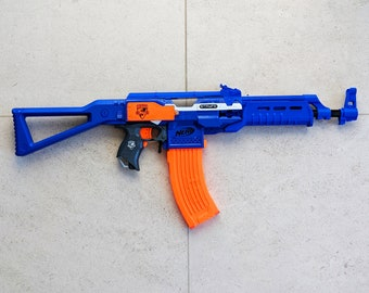 MODIFIED Full Auto Nerf AK-47 Stryfe from PDK Films #19