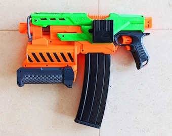 HIGHLY Modified Nerf DEMOLISHER From PDK Films #10