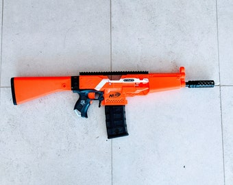 MODIFIED Full Auto Nerf MP5 Stryfe from PDK Films #23
