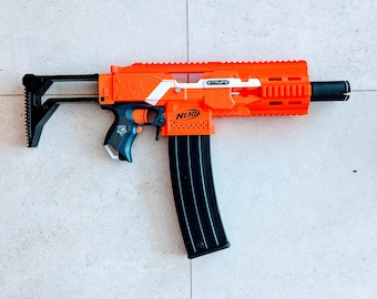 MODIFIED Full Auto Nerf Honey Badger Stryfe from PDK Films #28