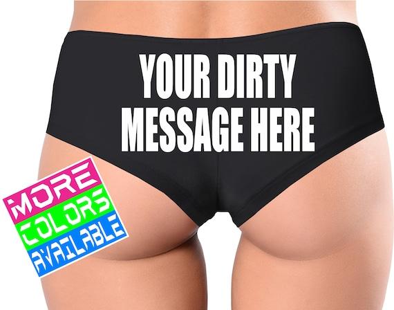 Dirty sexy underwear
