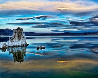 Sunrise at Mono Lake #1