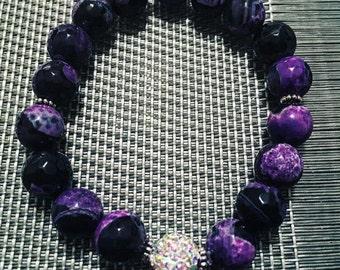 Purple Large/ Sparkle