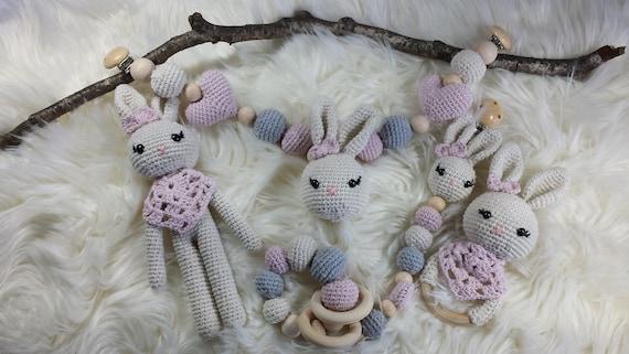 Baby shell pendant crocheted bunny | Crochet bunny, Crochet, Diy ... | 321x570