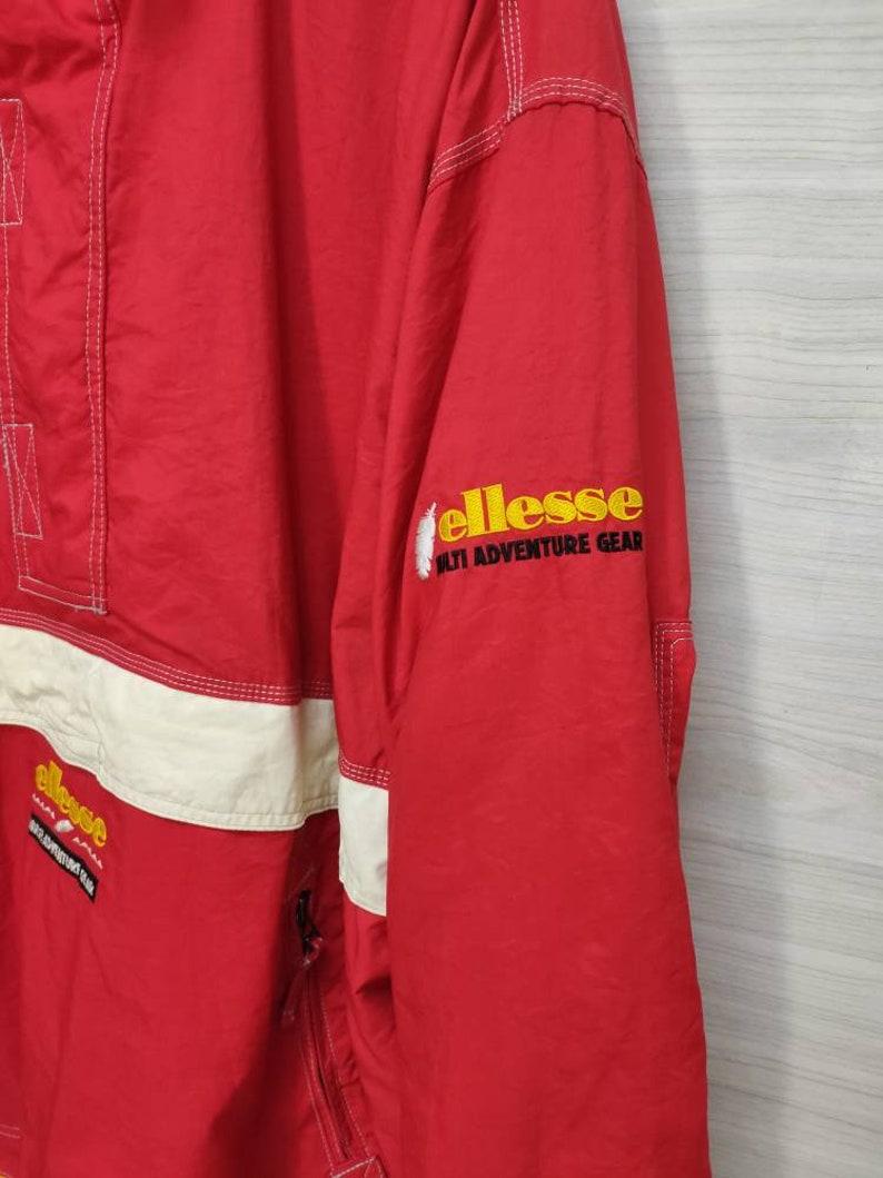 ELLESSE Hoodie Jacket Vintage 90/'s Goldwin Snow Jacket Winter Suit Thinsulate Skiing Pullover Ellesse Multi Adventure Gear Jaspo 0