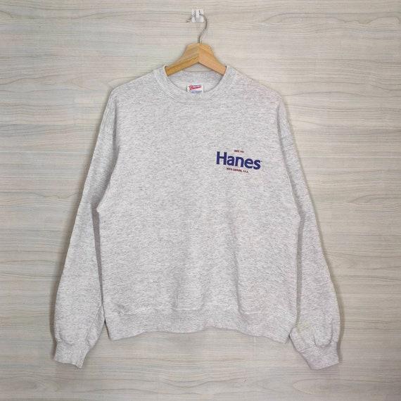 HANES Sweatshirt Vintage Hanes Sweater Activewear