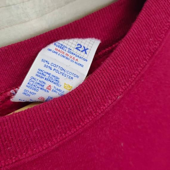 80s Jerzees Crewneck Vintage Jerzees Sweatshirt P… - image 3