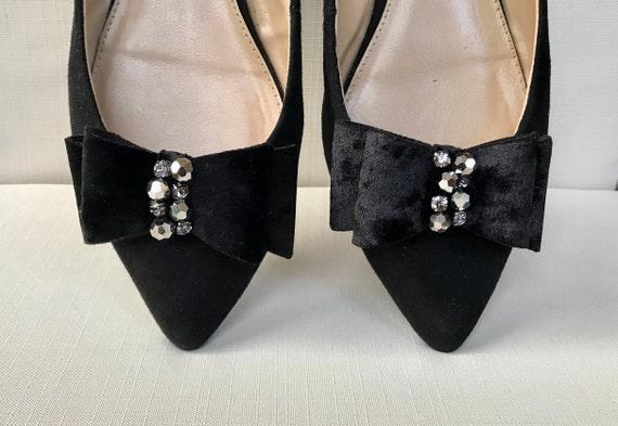 Adorn Suede Shoe Clips