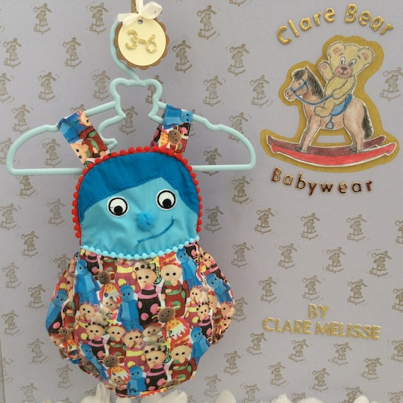 64085bb3f 3-6m In The Night Garden iggle piggle romper ready to ship