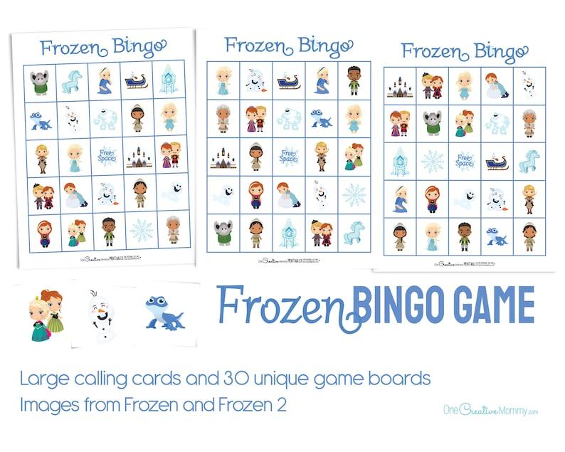 Frozen Bingo Game image 0