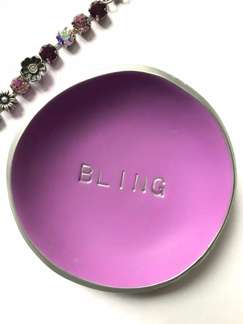 Bridesmaid gift Gift for Her Jewelry Dish Gift under 20 Clay not Ceramic Dish Trinket Dish Ring Dish Jewelry Storage