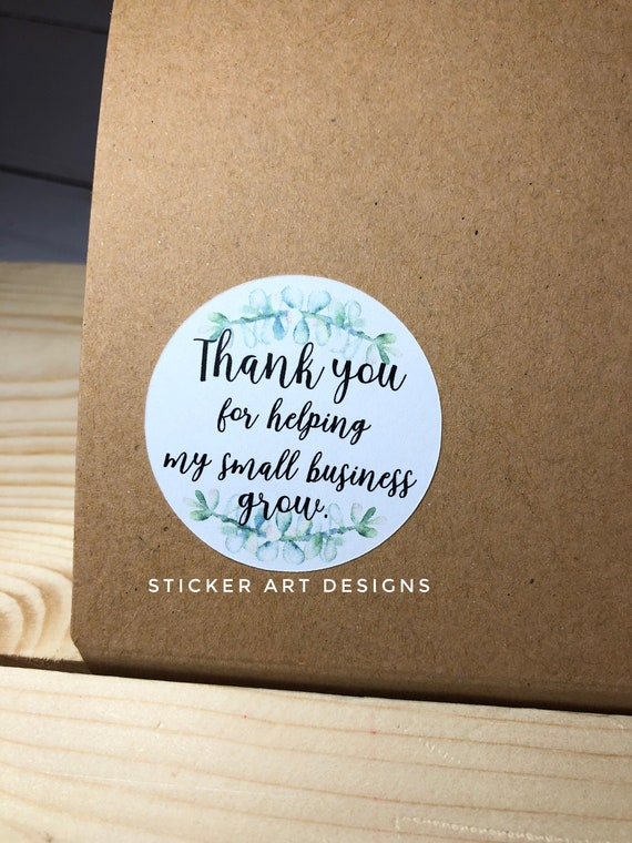 Small Business Packaging Stickers