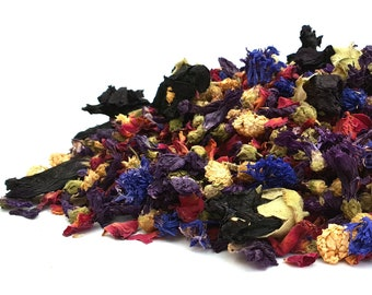 Natural Confetti, 1 Litre, Twilight,  Dried Petals, Biodegradable Confetti, Real Petal Confetti, Dried Flowers, Weddings, Flower Girl Basket