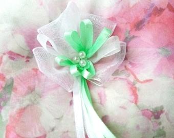 Fairy Wedding Ring Bearer Pillow, Pink Ring Pillow, Lace Ring Pillow, Wedding Pillow, Ring Cushion, Bearer Pillows - Wedding Confetti Shop