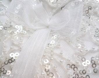 Wedding Ring Bearer Pillow, Glamour Ring Pillow, Lace Ring Pillow, Wedding Pillow, Ring Cushion, Bearer Pillows - Wedding Confetti Shop