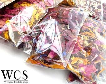 Biodegradable Confetti Envelopes- 100% Natural Wedding Confetti Packets, Decor, Ecofriendly Confetti Boho Confetti - Pick Your Confetti!