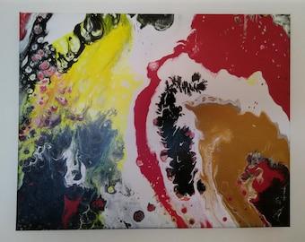 """Toucan  16"""" X 20""""   Acrylic on Canvas"""