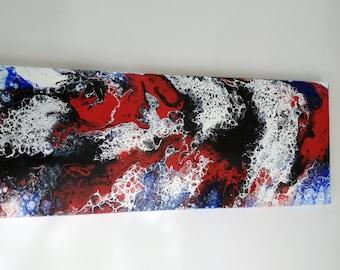 """Magui   16"""" X 40"""" X 1,5""""  Acrylic on Canvas"""