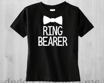 Ring Bearer Shirt - Ring Bearer Gift - Ring Bearer Proposal - Ring Bearer T-Shirt - Wedding Rehearsal Shirt - Ring Bearer - Ring Security