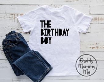 The Birthday Boy Shirt, Birthday Boy Shirt, Birthday Shirt, Toddler Birthday Shirt, Birthday Shirts for Boys, Kid Birthday Shirt, Boy Tee