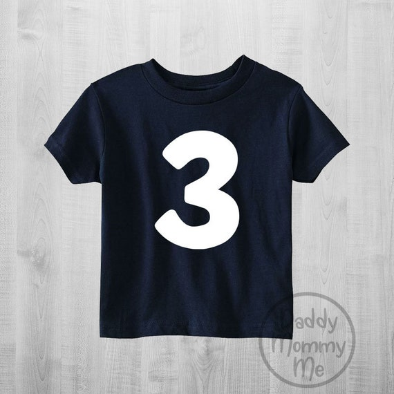 Three Birthday Shirt 3 Boy Clothes 3rd