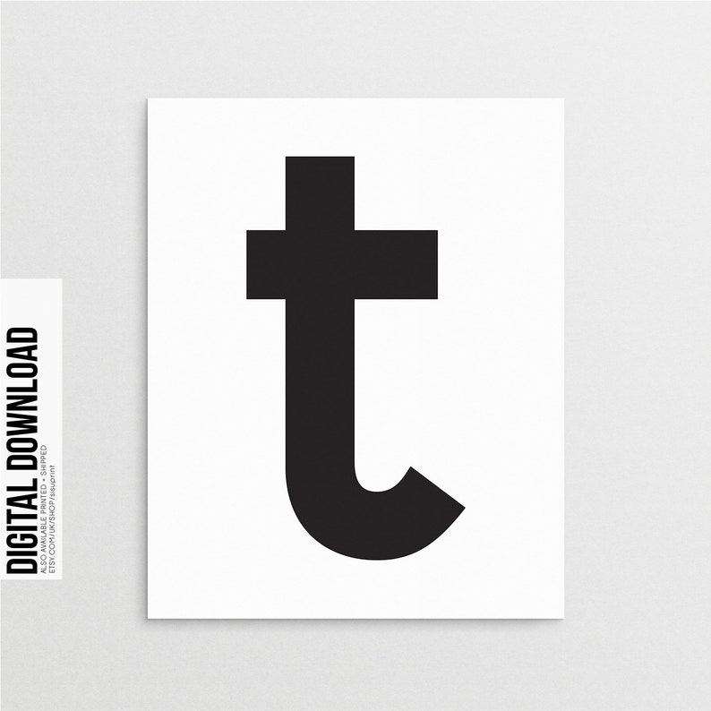 picture about Letter T Printable titled Letter T Wall Artwork Printable, Scandinavian T Print, Letter T Print, T Very first Artwork Print, Letter T Poster, Typography, Scandinavian Prints