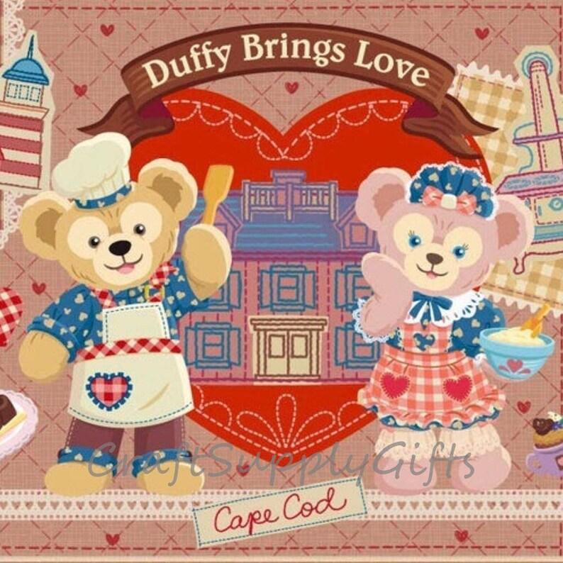 5D DIY Diamond Painting Disney Duffy /& Shelliemay Bear Mosaic Cross Stitch Full SquareRound Drill 3D Diamond kit Home Sticker Decoration
