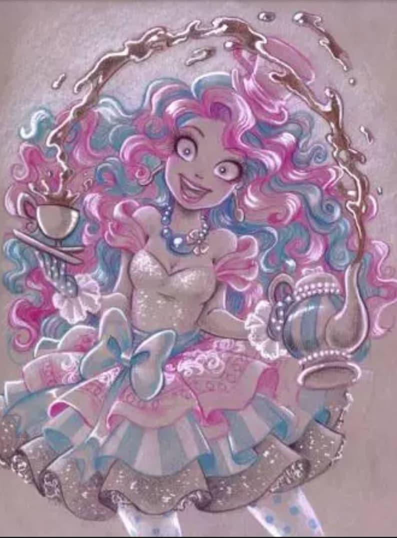 5D DIY Diamond Painting Disney Cartoon Princess Mosaic Cross Stitch Full  Square Drill 3D Diamond Painting kit Home Decoration Gifts