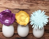 Spring Paper Flower Arrangment / Easter Paper Flowers  / Mother's Day Bouquet