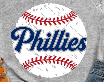 Philadelphia SVG /& Studio 3 Cut File Stencil Decal Files Logo for Silhouette Cricut SVGS Cutouts Baseball Decals Phillies