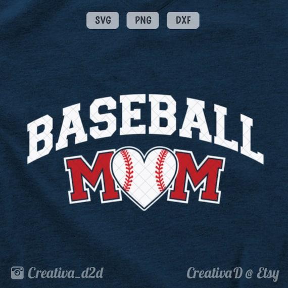 Baseball Mom Svg Baseball Svg Mom Svg Baseball Mom Cut File Etsy